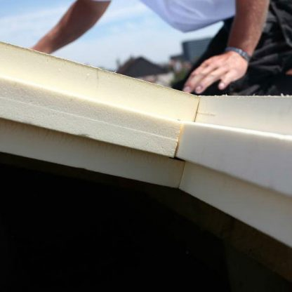 Isolant toit rainurés bouvetés