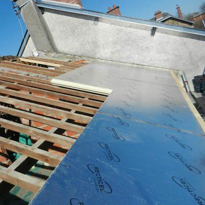 Isolant toiture sur chevrons