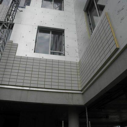 isolant façade en vêture