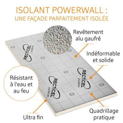 Isolant polyurethane Powerwall